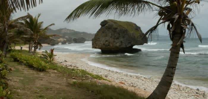 Барбадос, восточное побережье.