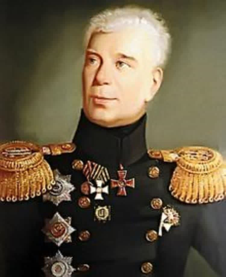 Иван Федорович Крузенштерн, основатель первого русского кругосветного путешествия.