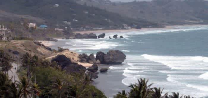 Барбадос. Восточное побережье.