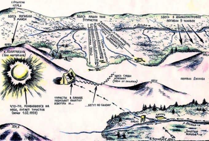 Карта Космопоиска,1999 год.