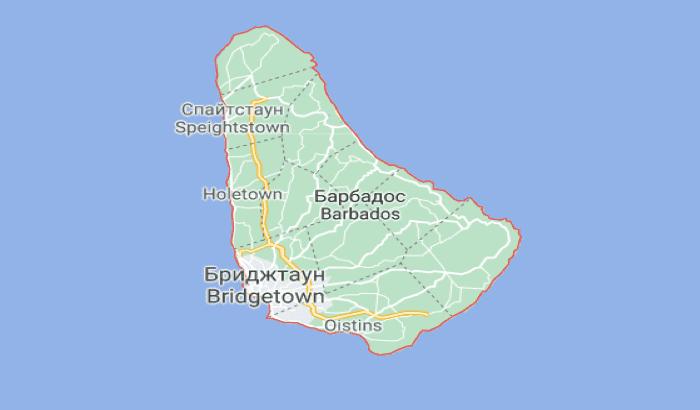 Остров и государство одноименного названия Барбадос.