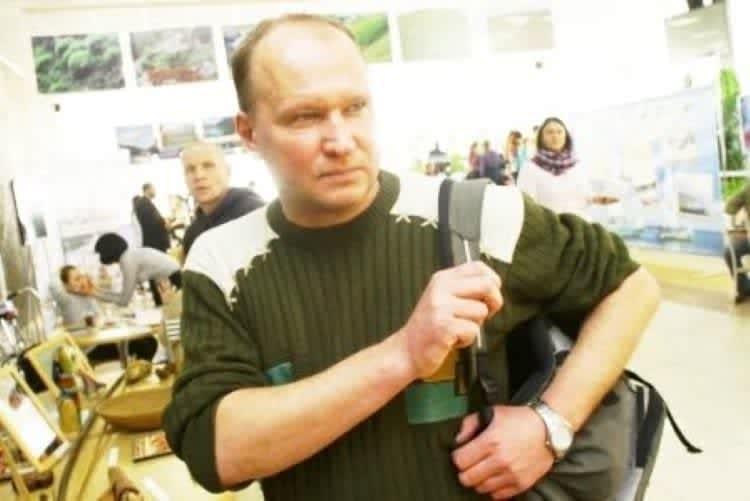 Анатолий Хижняк, русский путешественник.