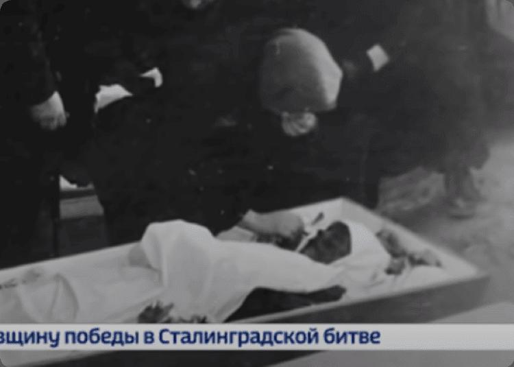 Похороны Р. Слободина.