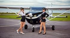Воздушное путешествие на самолете Цессна.