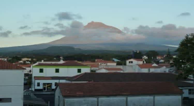 Азорские острова. Вулкан Пико.